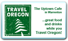 Uptown cafe on TravelOregon.com